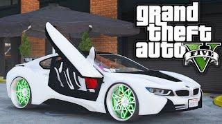 BMW I8 Donk! GTA 5 Real Hood Life 3 #17 (Real Life Mod)