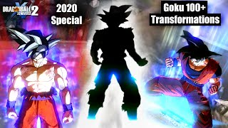 Limit Surpass Goku 100+ Transformations w/All Variations/Clothes 2020 Special - DB Xenoverse 2 Mods