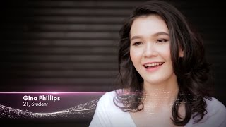 Gina Phillips finalist Miss Universe Malaysia 2017 Introduction