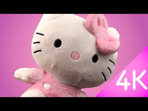 Hello Kitty Beanie Babies - Hello Kitty Pink 4k