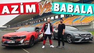 AZİM (Camaro) VS BABALA (Mercedes) DRAG YARIŞI - Enes Batur Vs Oğuzhan Uğur