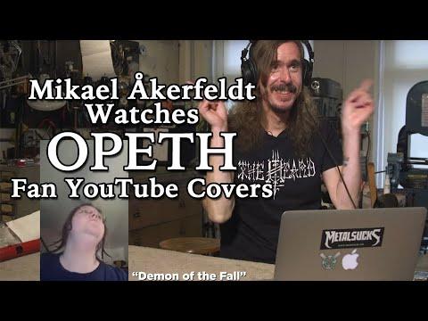 OPETH's Mikael Åkerfeldt watches fan YouTube covers