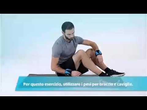 Pesi per caviglie o polsi (CHIT)