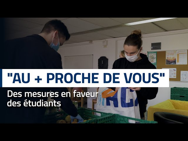 « Au + proche de vous » : des paniers repas gratuits pour les étudiants