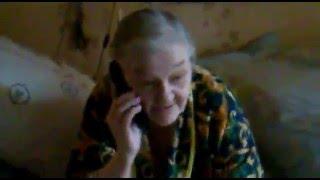 Приколы / Люди: Дерзкая бабуля решает вопросы по телефону 18+, посылает на три буквы