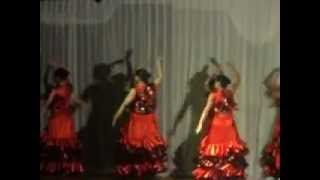 preview picture of video 'academia de danzas maria elena alcaraz itaugua  coreografia Española'
