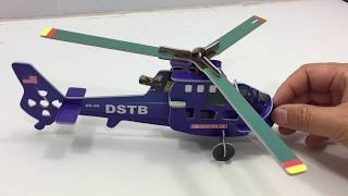 DIY Miniature Helicopter and Biplane ~ Aishangpin 3D Puzzle