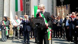 Genova, 25 Aprile fischi al sindaco Bucci, l'Anpi critica i contestatori | Kholo.pk