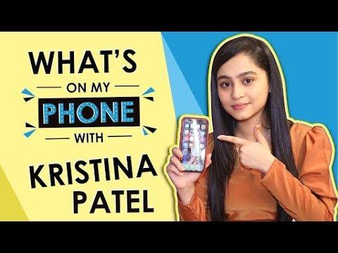 What's On My Phone With Kristina Patel Aka Swati