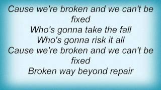15753 Nuno Bettencourt - Broken Lyrics