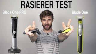RASIERER TEST - Männerrasierer ● ELEKTRORASIERER TEST | Philips Blade vs. Philips Blade PRO