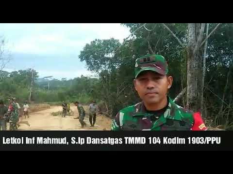 Dansatgas TMMD PPU.Letkol Inf Mahmud, S.Ip