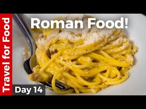 Italian Food – AMAZING ROMAN FOOD and Attractions in Rome, Italy!