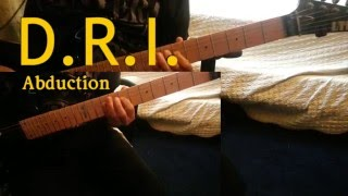 D.R.I. - Abduction Guitar Cover (SOLO INCLUDED)