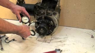 oil burner pump pressure test