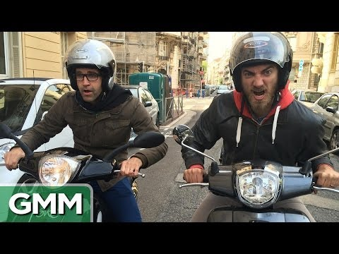 Rhett and Link in France