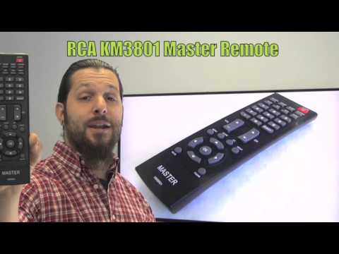 RCA KM3801 Master Commercial TV Remote Control