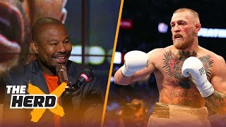 'Sugar' Shane Mosley reacts to McGregor's performance against Mayweather   THE HERD