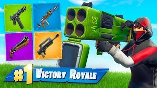 Using VAULTED WEAPONS to *WIN* In Fortnite!