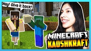 HE STOLE MY STUFF! - Minecraft Survival Lets Play: KaoshKraft SMP 3 - EP 94