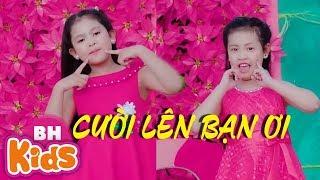 Cười Lên Bạn Ơi ♫ Tam ca nhí nhóm Rain Kids - Nhạc Thiếu Nhi Vui Nhộn