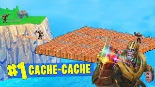 CACHE-CACHE SERVEUR PRIVE AVEC THANOS SUR FORTNITE !!!