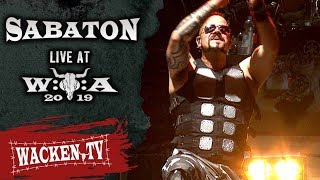 Sabaton   3 Songs   Live At Wacken Open Air 2019