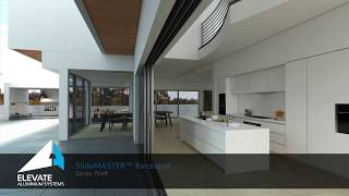 704R SlideMASTER™ Recessed Sliding Door