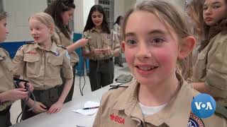 Boy Scout Girls Troops Gain Popularity In The United States