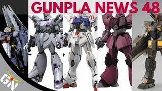 Gunpla News 48: Galbadly , Vigna Ghina, F91 2.0, Advanced Hazel, Heavy Gundam, P Bandai