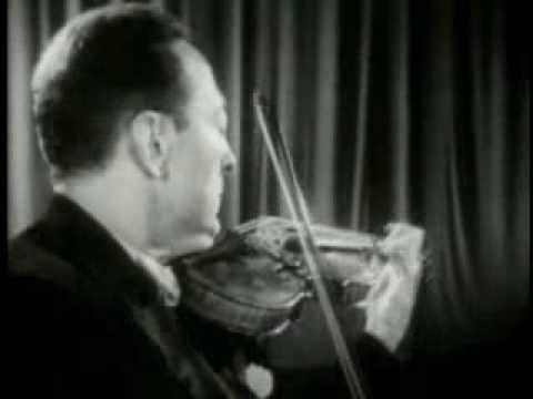 Niccolo Paganini - Caprice No. 24 (gra Jascha Heifetz)
