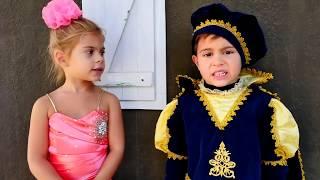 Игры для детей. Принц совершает подвиг ради принцессы