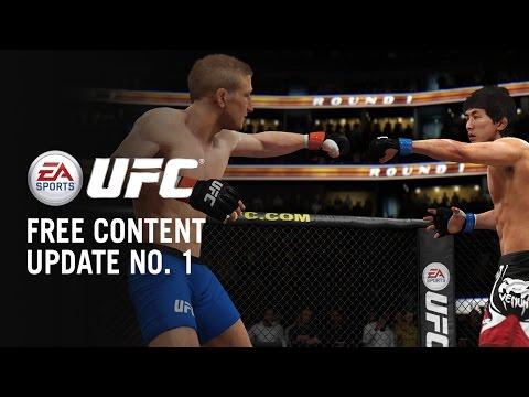 EA SPORTS UFC dostalo update se třemi novými bojovníky
