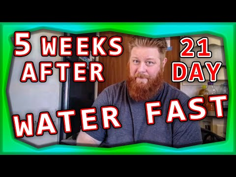 Download What A 20 Day Water Fast Did To My Body Video 3GP Mp4 FLV