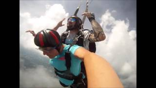 Mike And Ashley Greene.... Skydiving near Lake Norman