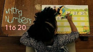 Smart 3 Year Old | Writing numbers 1-20