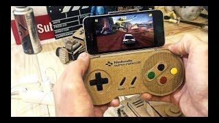 Как сделать Джостик Nintendo из картона для смартфона своими руками