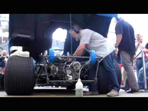 mise en route moteur v12 Matra ms 670 (видео)