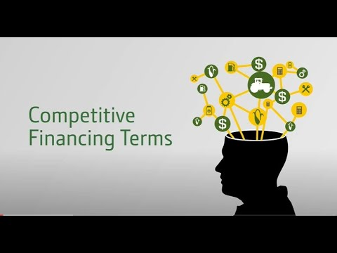 Competitive Financing Terms
