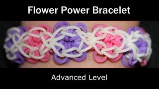 Rainbow Loom® Flower Power Bracelet