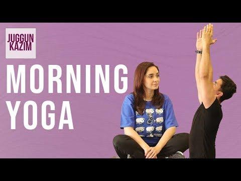 Morning Yoga Routine | Yoga is HELPFUL | Healthy Living | Workout | Fit Culture | Juggun Kazim