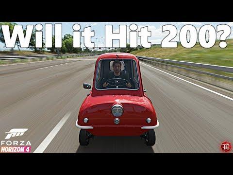 Peel P50 Speed Glitch! |Forza Horizon 4| - смотреть онлайн