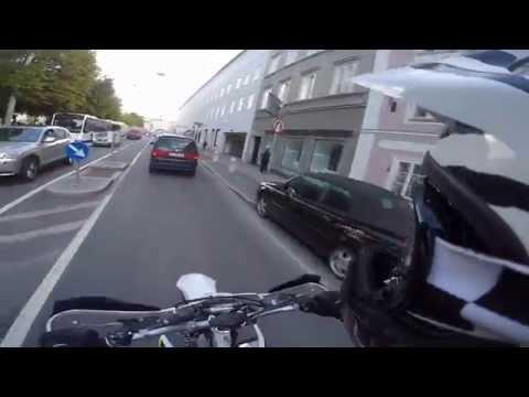Urban Fun Salzburg mit Husqvarna FE 450