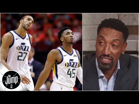 Scottie Pippen explains why the Jazz's defense has been so bad vs. Rockets | The Jump