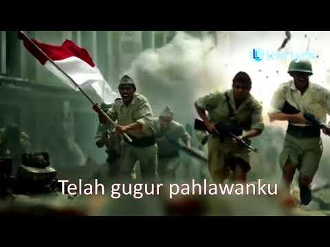 Lagu gugur bunga   lirik   wajib nasional ciptaan ismail marzuki