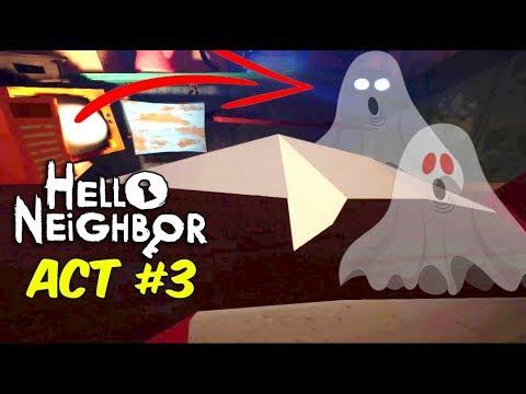 Download UNCLE KE GHAR ME BHOOT | Hello Neighbor ACT 3 [ Part#3