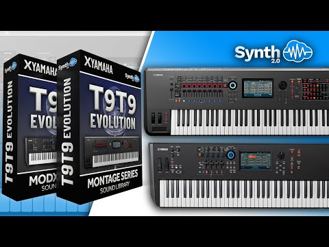 ( Preview ) T9T9 EVOLUTION | TOTO COVER PACK | YAMAHA MONTAGE / MODX