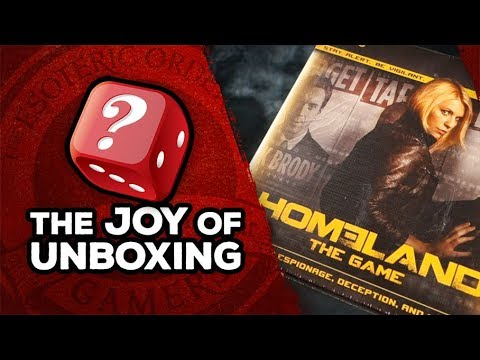 The Joy of Unboxing: Homeland the Game