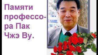 Памяти профессора Пак Чжэ Ву.