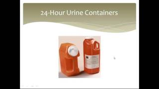 Collection and Preservation of Urine
